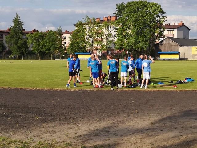Piłkarze Mazowsza normalnie trenują