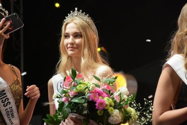Zuzia Dzidkowska na gali Miss Ziemi Łódzkiej Nastolatek 2019.