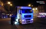 Tir wjechał do centrum Bielska-Białej: kierowca był pijany, miał 3 promile!