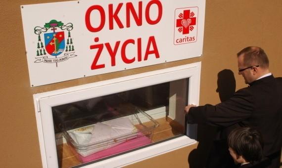 Okno życia w Satrogardzie Gdańskim juz działa.