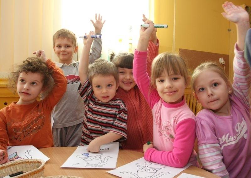 Kto chciałby rządzić? Wszyscy! Bo rządzenie jest fajne - przekonane są dzieci z przedszkola nr 36.