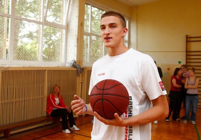 Tomasz Gielo jest wychowankiem AZS Koszalin.