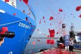 Gdynia: Zodiak II ochrzczony (25.09.2020). To perełka polskiej myśli technicznej. Służył będzie Urzędowi Morskiemu w Gdyni