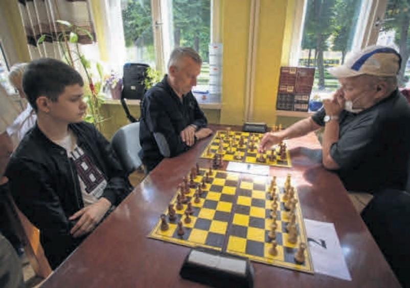 Grają Michał Nisztuk (po prawej) - Dimitry Aniskiewicz