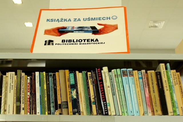 Uwolnij książki, przynieś je do Biblioteki Politechniki Białostockiej