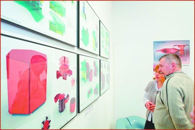 Ta wystawa to gratka dla miłośników nowoczesnych rozwiązań. To prace młodych designerów z Łodzi.