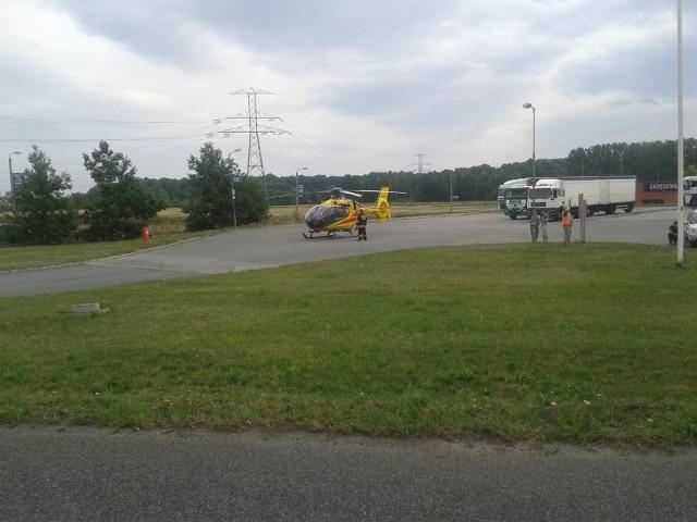 Wypadek w Mikołowie na DK44