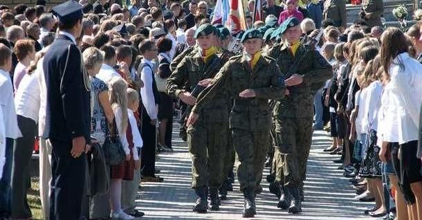 Kompania oddała honory wojskowe poległym na Kurpiach