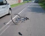 Wypadek w Henrykowie. Zginął rowerzysta