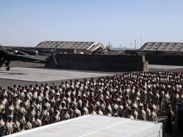 Pożegnanie polskiego żołnierza w GhazniWczoraj w bazie Ghazni polscy i amerykańscy żołnierze pożegnali st. chor. Jana Kiepurę.