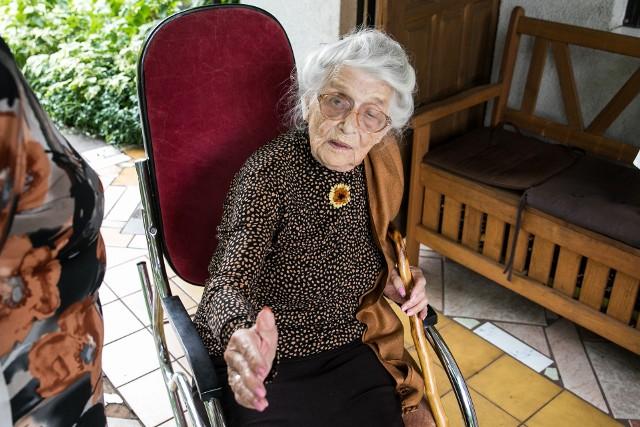 104. urodziny Aurelii Liwińskiej z Torunia.