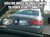 """BMW, czyli """"Bóg Mnie Wybrał"""". Jedyne auto, które budzi tak skrajne emocje [MEMY]"""