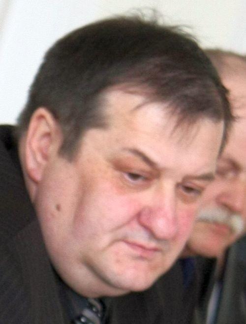 Krzysztof Wierzbicki, przewodniczący Zarządu Wojewódzkiego NSZZ Policjantów Woj. Podlaskiego.