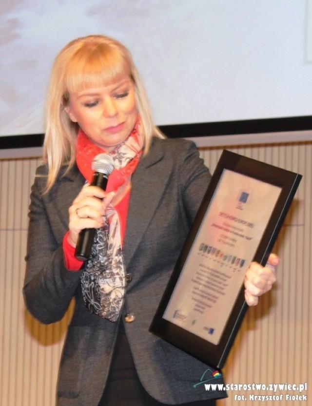 Minister Bieńkowska w Żywcu