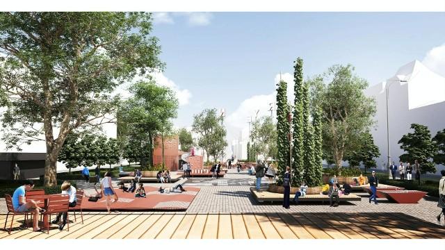 Rozstrzygnięto konkurs na koncepcję sezonowego zagospodarowania placu Wolności. Oto zwycięski projekt.