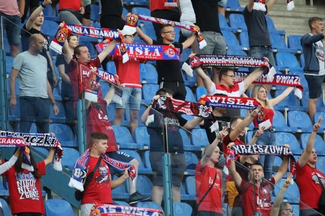 Kibice Wisły Kraków będą na meczu 30. kolejki PKO Ekstraklasy w Gliwicach z Piastem - 16 maja 2021 roku.