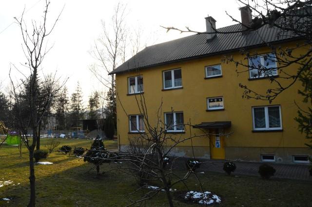 Tak wygląda dziś (przed rozbudową) Przedszkole Samorządowe w Wiśniowej