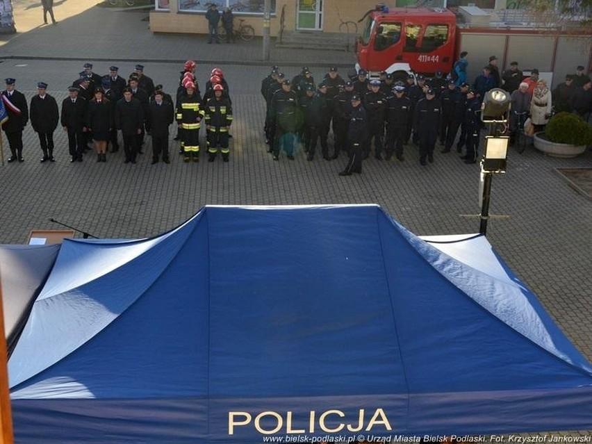 Policja i straż pożarna w Bielsku Podlaskim dostały nowe...