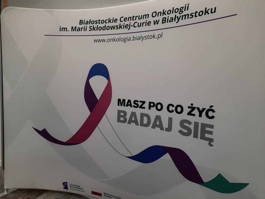 Konferencja na temat leczenia raka piersi w Białostockim...