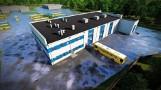 Firma z Kielc wybuduje nowoczesną myjnię i warsztaty dla autobusów w Starachowicach (WIZUALIZACJE)