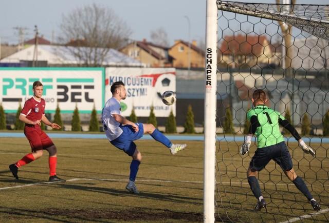 Kamil Zalewski w trzech wiosennych meczach zdobył cztery gole