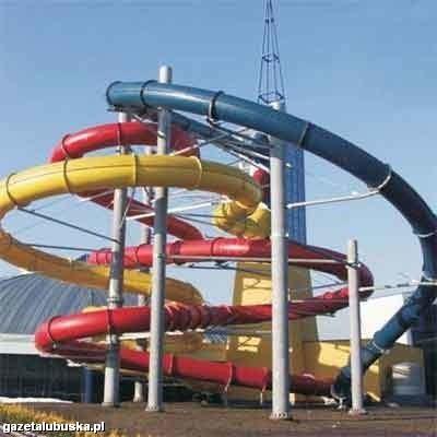 Atrakcją basenu ma być najdłuższa w Polce, licząca 210 metrów, rura do zjeżdżania
