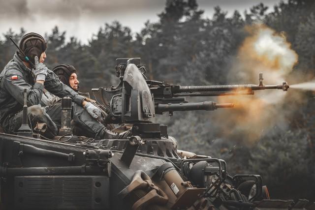 Ćwiczenia na poligonie w Drawsku. Szkolili się żołnierze z pododdziałów z Czarnego i Glewic