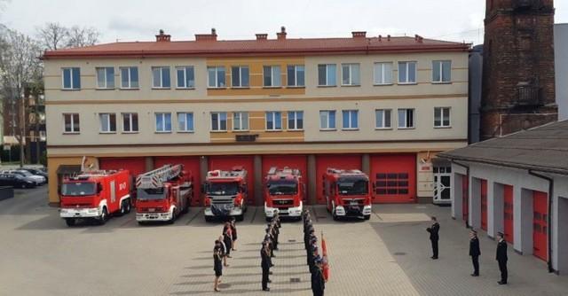 Dzień Strażaka 2020 w KW PSP w Białymstoku