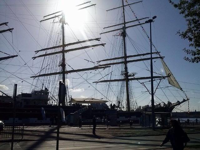 Kruzensztern odwiedził już Szczecin przy okazji finałów regat The Tall Ships' Races