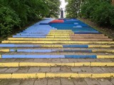 Dzieło studentów malarstwa UMK w Toruniu będzie trzeba usunąć. Konserwator zabytków: to samowolka! [zdjęcia]