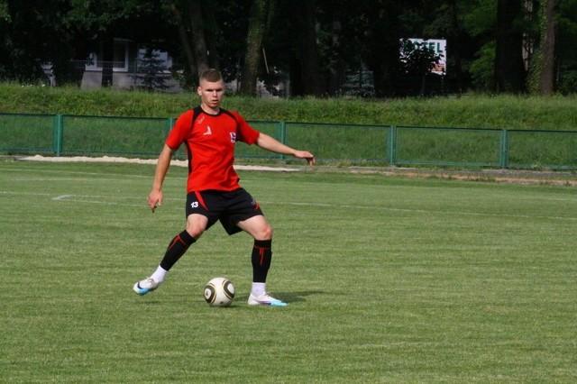 Obrońca Bartłomiej Maciejewski opuszcza namysłowską drużynę.