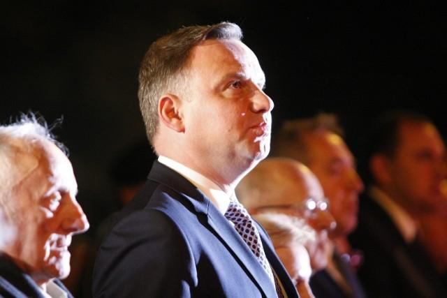 1 września 2017 r., prezydent Andrzej Duda podczas swojej pierwszej wizyty na wieluńskich obchodach