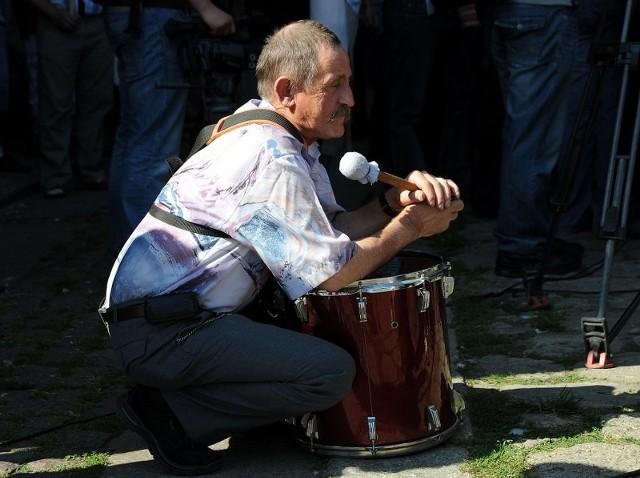 Protest rolnikówW Szczecinie protestowali rolnicy przeciw zbyt niskim cenom skupu zboza.