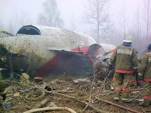 Katastrofa w Smoleńsku - akcja ratownicza