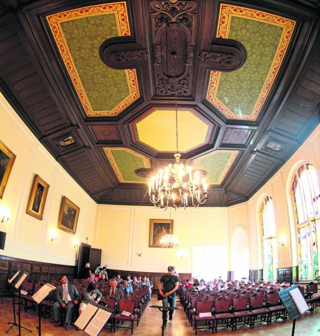 Sala im. Grzegorza Gerwazego Gorczyckiego w Muzeum Górnośląskim została odnowiona dzięki pomocy studentów. Muzeum jest jednak ogromne, tak jak ogromne są jego potrzeby