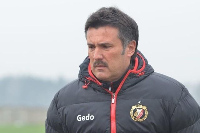Trener Widzewa Wojciech Stawowy nie wie, czy jego drużyna będzie mogła grać wiosną w pierwszej lidze