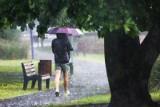W niedzielę zmiana pogody. Bedzie ciepło ale należy się spodziewać opadów deszczu
