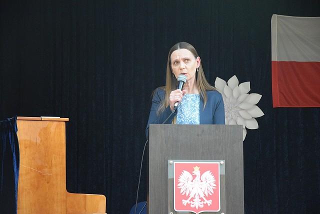Julita Pilecka, wójt gminy Kobylanka.