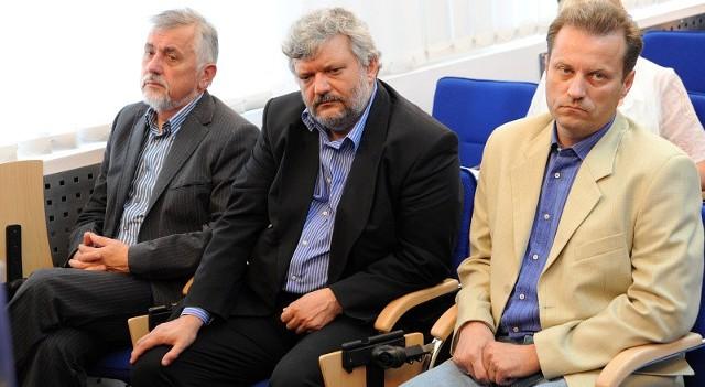 Nowi doradcy prezydenta (od lewej): Marek Tałasiewicz, Marek Sztark i Leszek Siwecki.