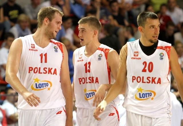 Przemsyław Karnowski, Tomasz Gielo i Jarosław Mokros będą walczyć o miejsce w kadrze.