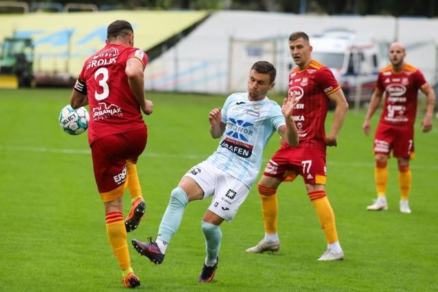 Chojniczanka Chojnice to drużyna z czołówki II ligi