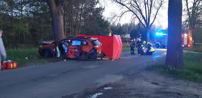 To była tragiczna sobota na drogach województwa łódzkiego....