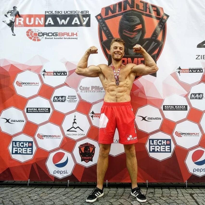 Mateusz Karbowy, uczestnik Ninja Warrior Polska.