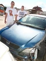 Oddali auto do naprawy, a mechanik je rozbił