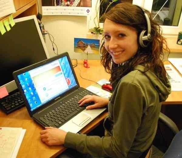 - Jesteśmy dostępni prawie 24 godziny - mówi Natalia Ogórek ze Studenckiego Biura Informacji.