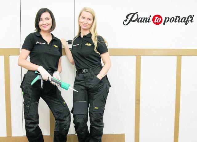 """Anna Drozd i Beata Łańcuchowska (z prawej), założycielki bloga """"Pani to potrafi"""""""