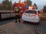 Wrocław. Wypadek dwóch samochodów i ogromne korki na ul. Grota Roweckiego. Zobaczcie zdjęcia