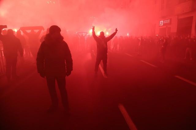 Marsz Polski Niepodległej zorganizowany przez środowiska narodowe 11 listopada 2019 roku.