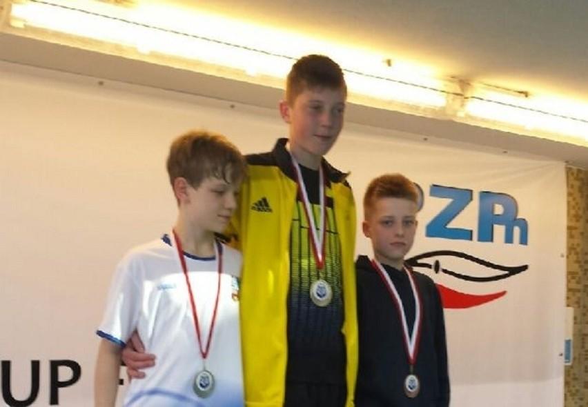 Marcin Łukowicz ze złotym medalem Pucharu Świata