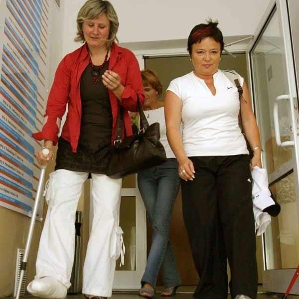 Przedstawicielki pielęgniarek w czwartek rozmawiały o zwolnieniach w Urzędzie Marszałkowskim.